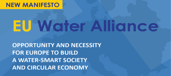 Opportunity and Necessity for Europe to build a water smart society and circular economy